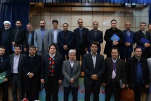 مراسم تجلیل از پژوهشگران برتر دانشگاه های آزاد استان مرکزی برگزار شد