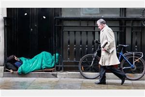 مرگ ۶۰۰ بی خانمان انگلیسی در سال گذشته