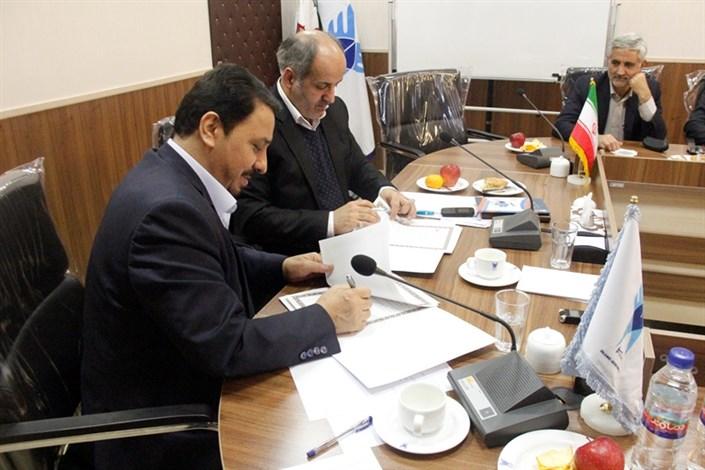 امضای تفاهم نامه همکاری بین وزارت دادگستری و دانشگاه آزاد اسلامی واحد تهران شمال