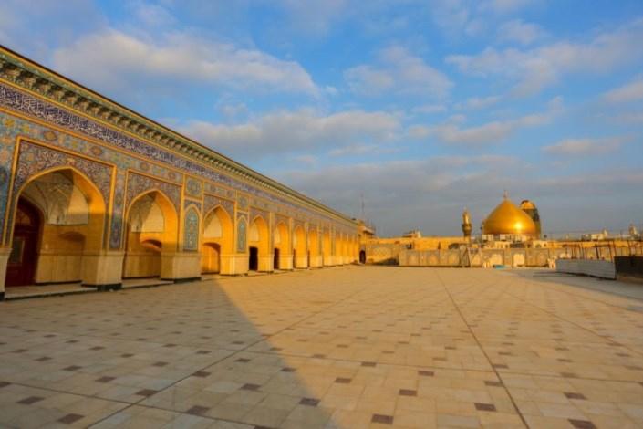 طرح توسعه صحن و شبستان حضرت زهرا (س)