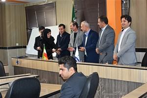 مراسم تجلیل از پژوهشگران برتر در دانشگاه آزاد اسلامی واحد بوکان برگزار شد