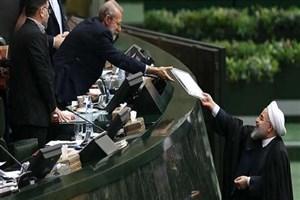 روحانی لایحه بودجه ۹۹ را تقدیم مجلس کرد