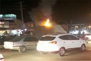 عامل آتش زدن مجسمه آریوبرزن در یاسوج دستگیر شد