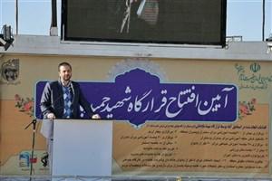افتتاح قرارگاه جهادی شهید باباخانی در حاشیهی شهر قم