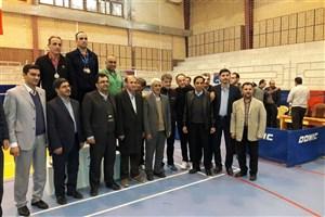 موفقیت تیم تنیس روی میز واحد تهران مرکزی در مسابقات استانی دانشگاه آزاد اسلامی