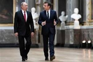 گفت و گوی تلفنی روسای جمهور فرانسه و روسیه پیرامون سوریه