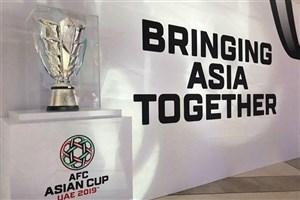 برنامه بازیهای روز دوم جام ملت های آسیا  با ورود استرالیا