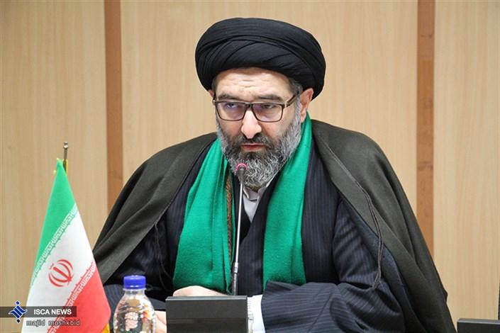 حجت الاسلام صفوی مسئول نهاد دانشگاه آزاد اسلامی استان گیلان