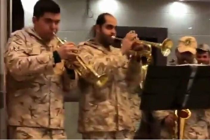 کلیپ شاد سربازان
