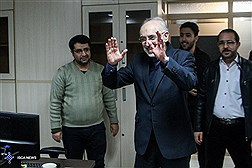 AEOI Chief Visits ISCA News Agency / In Photos