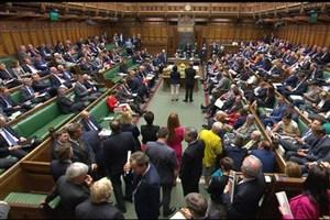 پیام پارلمان بریتانیا به دولت ترزا می