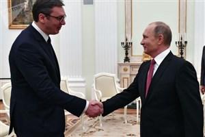 دیدار رئیس جمهور روسیه از صربستان