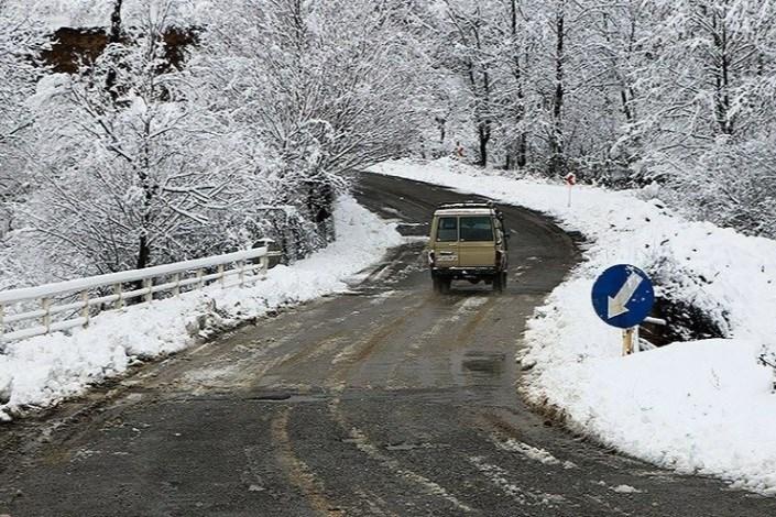یخ زدگی در جاده