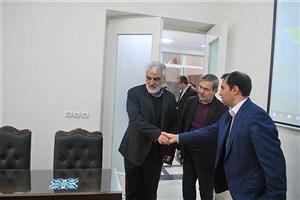 بازدید دکتر طهرانچی از دانشگاه هنرهای اسلامی - ایرانی استاد فرشچیان
