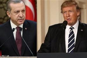 تماس تلفنی ترامپ و اردوغان درمورد شمال سوریه
