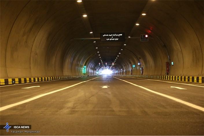 افتتاح بزرگراه شهید همدانی و تونل شهدای غزه