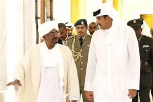رئیس جمهور سودان وارد قطر شد