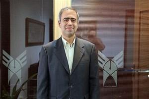 مشاور معاون توسعه مدیریت و منابع دانشگاه آزاد اسلامی منصوب شد