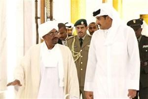 دیدار امیر قطر و رئیس جمهور سودان