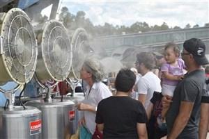 موج بی سابقه گرما در استرالیا زندگی عادی را مختل کرد