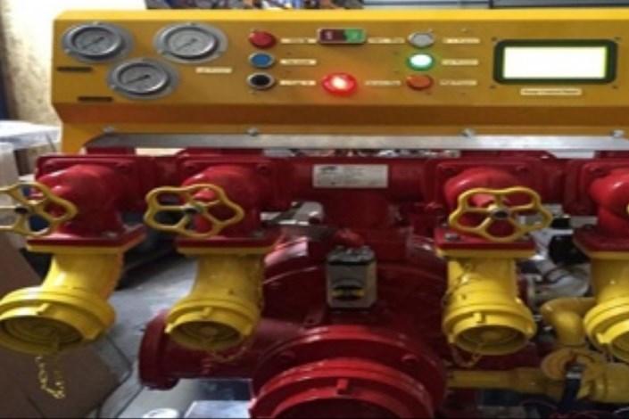 سیستم کنترل پنلهای هوشمند پمپهای آتشنشانی به سه کشور صادر شد