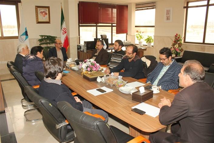 جلسه مشترک دانشگاه آزاد اسلامی واحد شاهرود و شرکت تعاونی توسعه و عمران شهرستان شاهرود