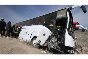 اعلام جزئیات تصادف دو سرویس مدرسه و واژگونی دو اتوبوس