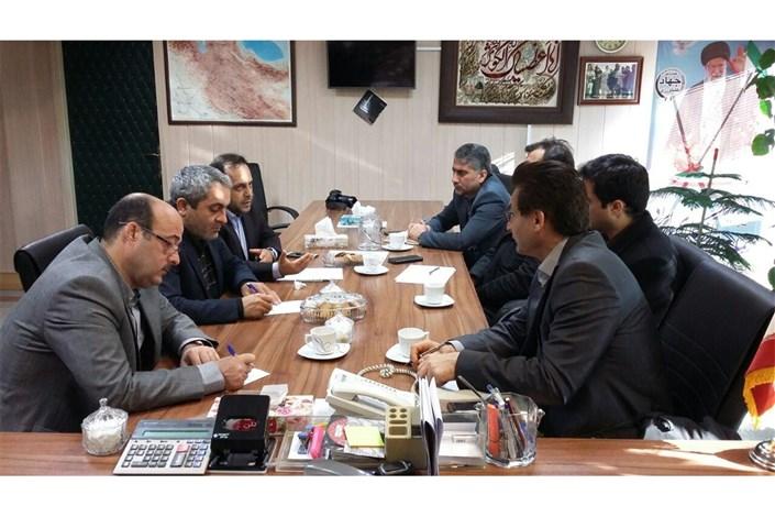 دیدار رئیس سازمان جهاد کشاورزی استان اردبیل
