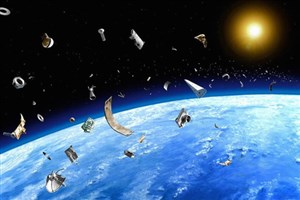 رصد یک سطل آشغال فضایی