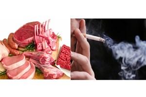 لبنیات و گوشت گران است و دخانیات ارزان!/ ابتلا به ۲۴ نوع سرطان با دخانیات
