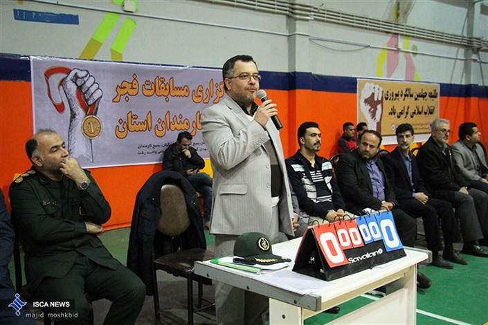 دکتر ابراهیم چیرانی رئیس دانشگاه آزاد اسلامی گیلان