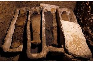 کشف یک مقبره با 50 مومیایی عجیب در مصر