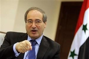 سوریه تسلیم فشارها نخواهد شد