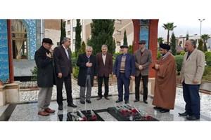 ادای احترام منصوریان به مقام شامخ شهدای گمنام واحد بابل