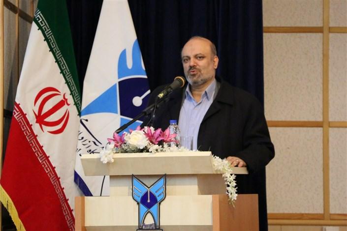 سخنرانی دکتر منادی در جلسه شورای اداری استان اردبیل