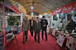 رئیس واحد کرج از نمایشگاه دستاوردهای 40 ساله انقلاب اسلامی استان البرز بازدیدکرد