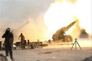 موشک باران مواضع داعش در سوریه