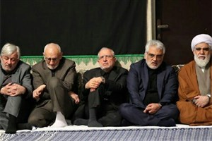 حضور دکتر طهرانچی در حسینیه امام خمینی (ره)
