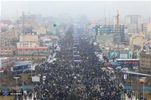 همه آمدند/ حضور پرشور دانشگاهیان در راهپیمایی 22 بهمن+ عکس