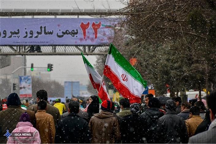 راهپیمایی یوم الله 22بهمن - کرمانشاه
