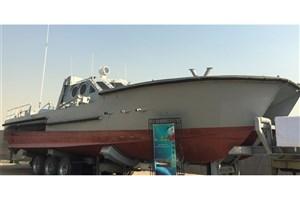 مجهز شدن نیروی دریایی سپاه به شناور موشکانداز جدید با سرعت ۸۰ کیلومتر