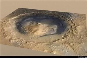 وجود آتشفان در مریخ