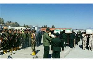 انتقال  پیکر 27 شهید حادثه تروریستی زاهدان به اصفهان+ اسامی شهدا