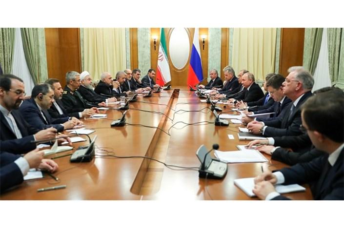 روحانی در روسیه