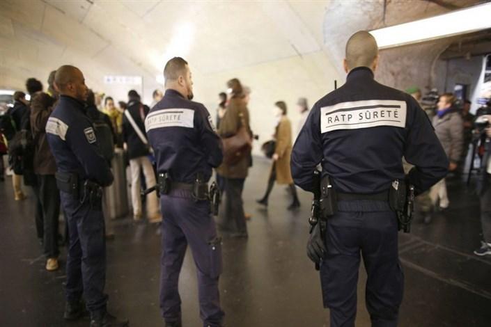 اسید پاشی در متروی پاریس