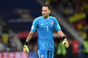 دروازهبان تیم ملی کلمبیا: امیدوارم نتایج خوبی با کیروش بگیریم