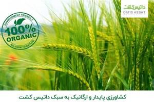 کشاورزی پایدار و ارگانیک به سبک داتیس کشت