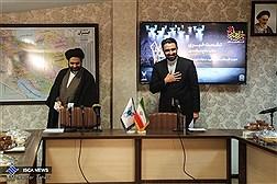 نشست خبری دکتر صالح اسکندری و حجت الاسلام ایزدهی
