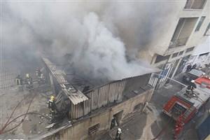 جزئیات آتشسوزی در یک انبار لولههای پلی اتیلن در کرج