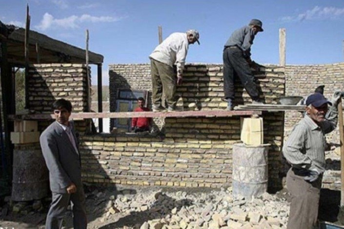 مسکن کمیته  امداددر مناطق زلزله زده